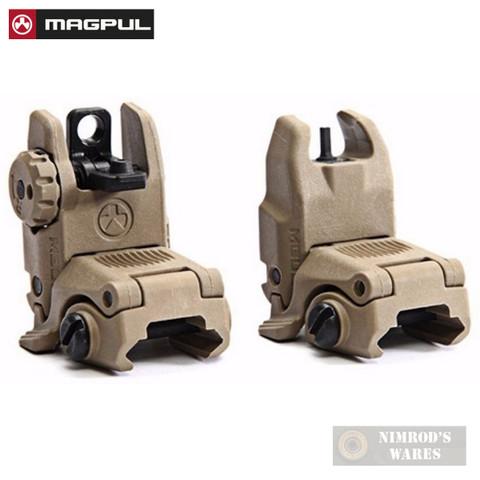 MAGPUL MAG247 & MAG248 MBUS Front & Rear Sights SET FDE