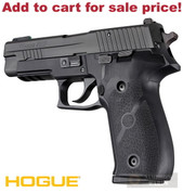 HOGUE 26010 Sig P226 Double Action Rubber Panel GRIP - Add to cart for sale price!