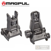 Magpul MBUS Pro Back-Up FRONT & REAR STEEL Sights MAG275 & MAG276