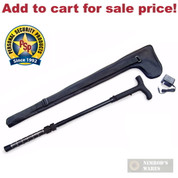 PS ZAPCane CANE + FLASHLIGHT + STUN GUN 1 Million VOLTS w/CASE - Add to cart for sale price!