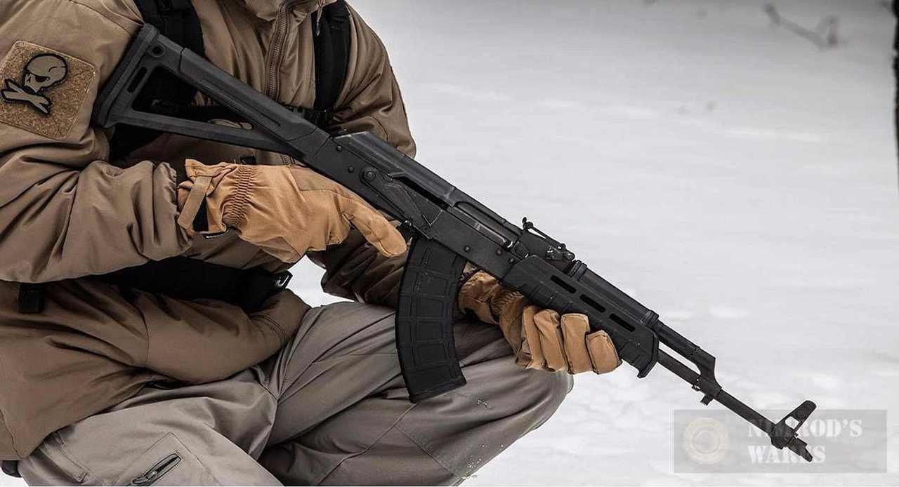MAGPUL MOE Hand Guard AK-47 / AKM / AK-74 w/o Sling Loop MAG619-BLK