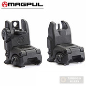 MAGPUL MAG247 & MAG248 MBUS Front & Rear Sights SET BLK