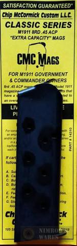Chip McCormick 14310 Classic 1911 Gov't 45ACP 8Rd MilSpec Magazine