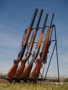 VERSATILE RACK Collapsible Portable Rifle & Shotgun GUN RACK VER201226