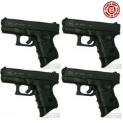 "Pearce Grip GLOCK 26 27 33 39 1"" Grip Extension 4-PACK PG-26XL"