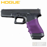 HOGUE 17006 HandALL Universal Full-Size Pistol Grip Sleeve (Purple)