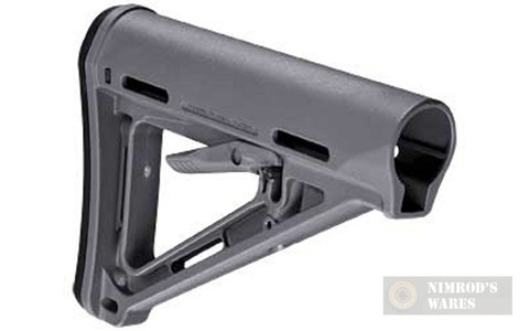 MAGPUL MOE AR15/M4 Carbine Stock Commercial-Spec Gray - MAG401-GRY