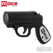 MACE Pepper GUN 20ft. Range Defense SPRAY Strobe LED 80405 80585