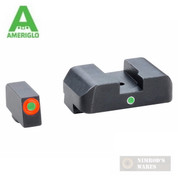 AmeriGlo i-DOT Night Sights GLOCK 17 19 22 23 24 26 27 33 34 35 37 38 39 GL-201