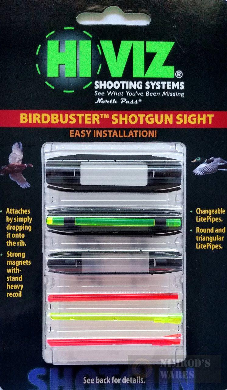 HiViz BirdBuster FRONT Shotgun Sight 1/4
