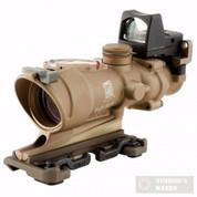 Trijicon ACOG 4x32 Rifle Scope Dual Red Reticle + 3.25MOA RMR Sight TA31ECOS