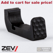 ZEV Glock Gen4 10mm 45ACP Aluminum Extended Mag Release ZT-MAGRELEASE-G4-L - Add to cart for sale price!