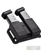 Blade-Tech Glock 9mm .40SW REVOLUTION Double Magazine Pouch ASR