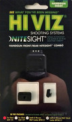 HiViz NITESIGHT™ Set GLOCK 9mm 40SW 357SIG GLN125