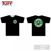 "TUFF ""Guns & Coffee"" T-Shirt BLACK X-Large 3001BK-XL"