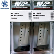 Smith & Wesson M&P SHIELD MAGAZINE 2-PACK 9mm 8 Rounds 19936 S&W