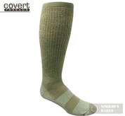 Covert Threads DESERT Military Boot Socks LG FOL 5157