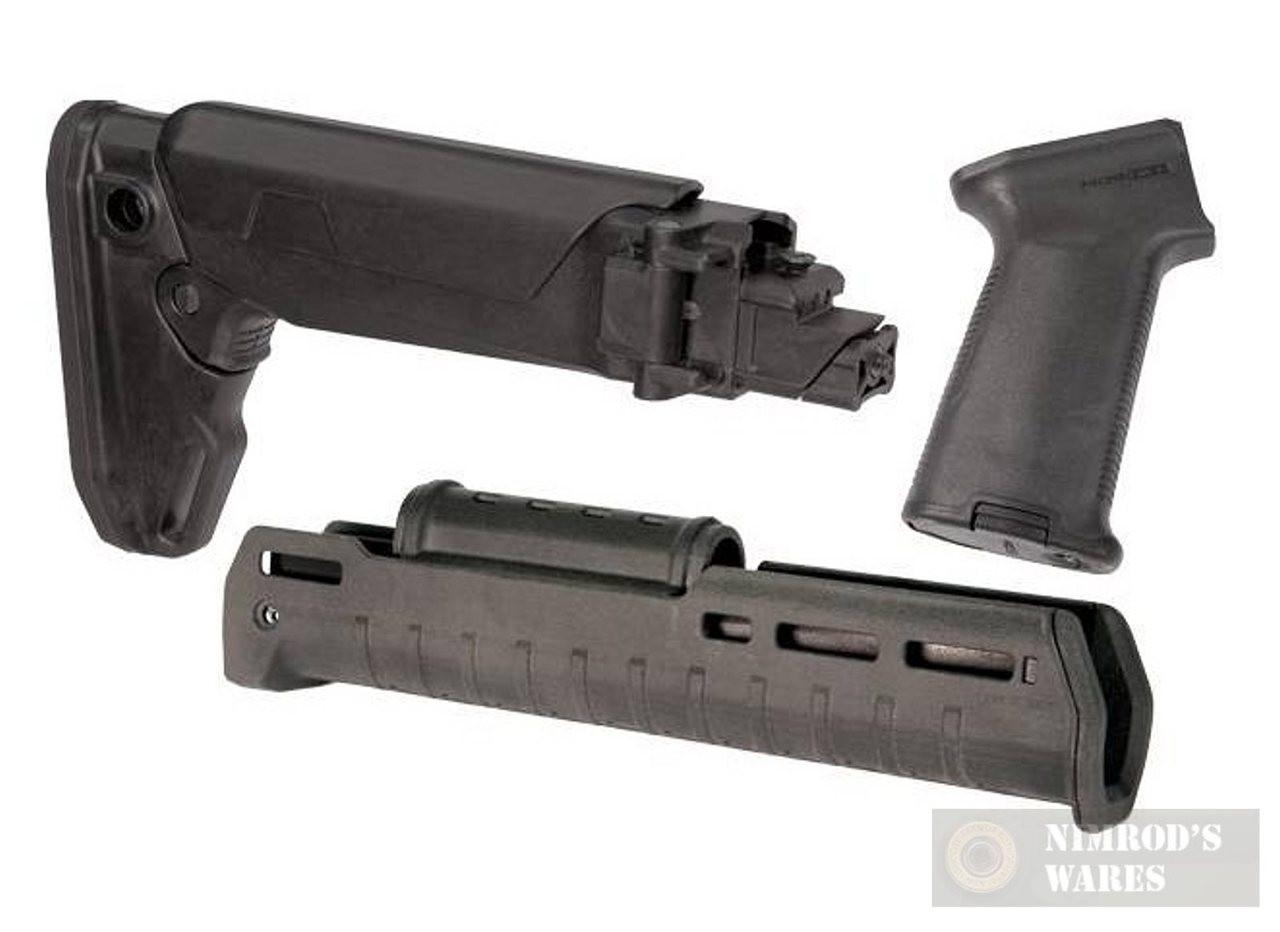 MAGPUL AK Zhukov Impingement KIT BLACK Stock / Hand Guard / Pistol Grip
