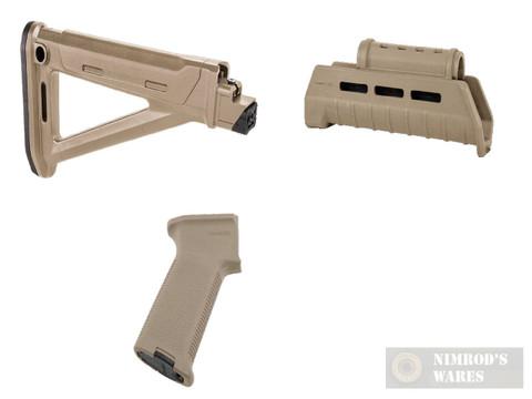 MAGPUL AK MOE Kit FDE: Stock, Hand Guard, Pistol Grip
