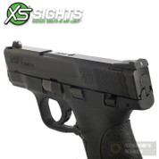 XS S&W M&P Shield 9 40 Tritium / Stripe Sights SET SW-0024S-4