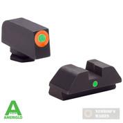 AmeriGLO Glock 42 43 G42 G43 i-DOT Tritium Night Sights SET GL-205