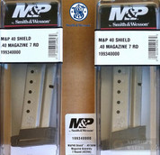 S&W Smith & Wesson M&P SHIELD .40SW 7 Round MAGAZINE 2-PACK 19934