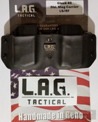 LAG Tactical Glock 43 G43 Double Magazine Carrier Pouch 1059