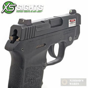 XS S&W Bodyguard .380 Tritium / Stripe Sights Set SW-0022P-3 - Add to cart for sale price!