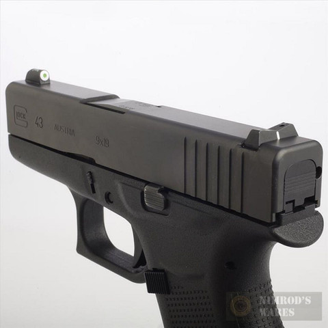 XS GLOCK G42 G43 Big Dot Tritium / Stripe Sights SET GL-0003S-3