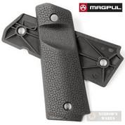 MAGPUL MOE 1911 Grip Panels w/ TSP BLACK MAG544-BLK