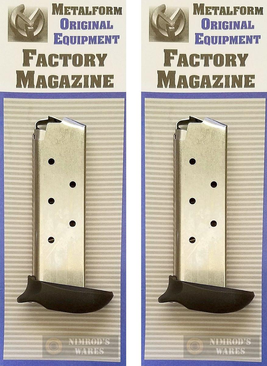 MAG-238-380-7-X SIG Sauer P238 .380 ACP 7 Round X-Grip Steel OEM Magazine