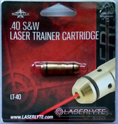 LaserLyte Laser Trainer .40 S&W Pistol Cartridge LT-40