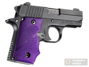 Hogue SIG SAUER P238 GRIP w/ Finger Grooves Purple 38006