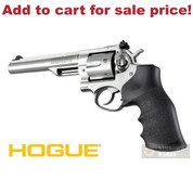 Hogue RUGER GP100 / Super Redhawk Rubber GRIP Black 80000 - Add to cart for sale price!