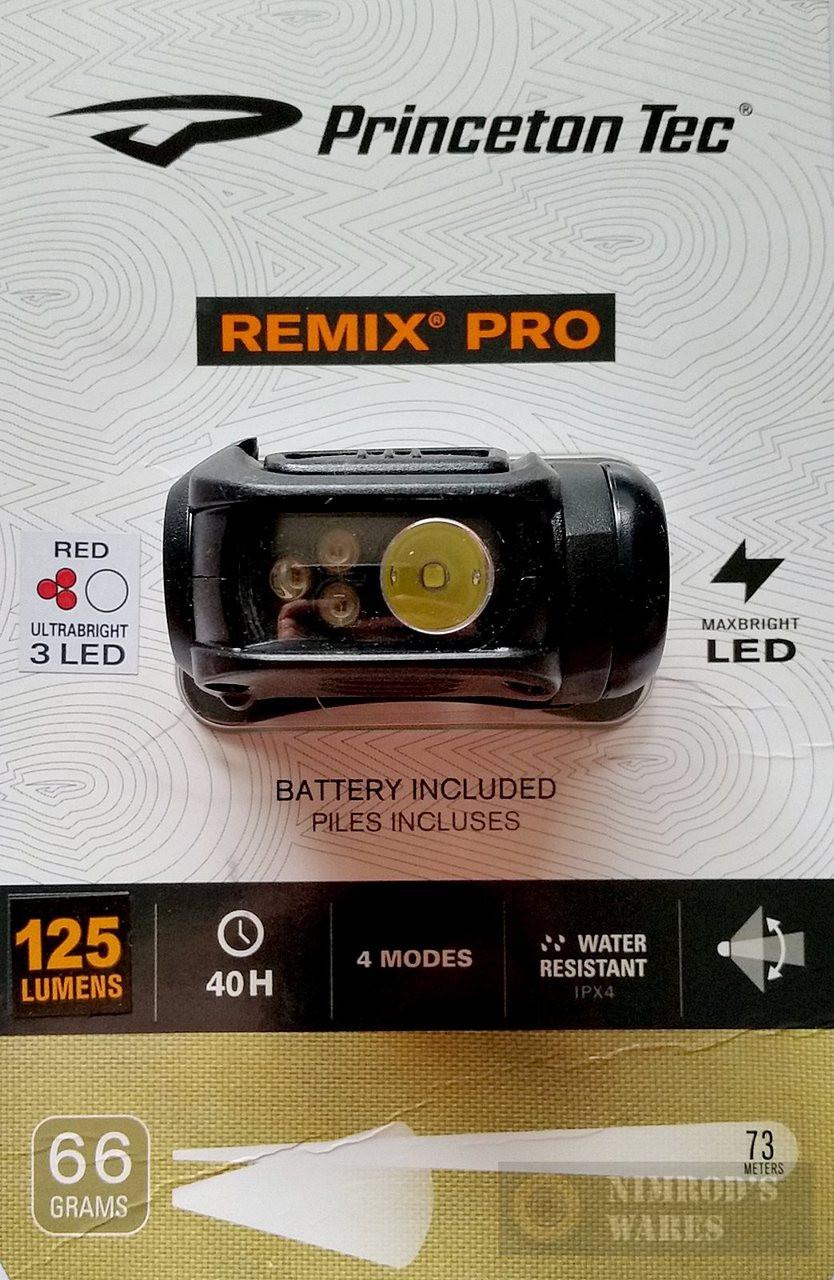 Princeton Tec Remix Pro 125 Lumen Headlamp