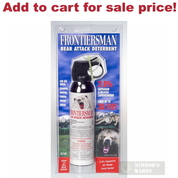 FRONTIERSMAN Bear Pepper SPRAY 35Ft Range 9.2oz + Holster FBAD07 - Add to cart for sale price!