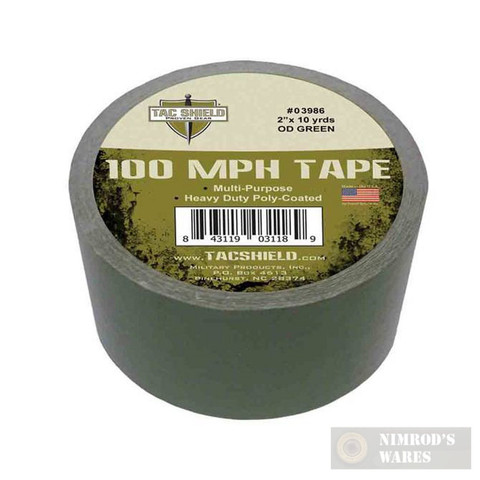 Tac Shield 100MPH Heavy Duty Tactical TAPE 10yds OD Green 03986