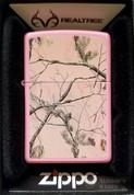 ZIPPO Realtree APG Pink Pocket Lighter Matte 28078