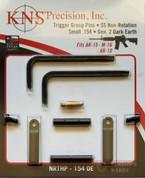 """KNS Precision Gen2 TAN Non-Rotation .154"""" Pins NRTHP-154DE"""
