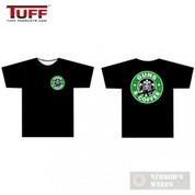 "TUFF ""Guns & Coffee"" T-Shirt Black Large 3001BKLG"