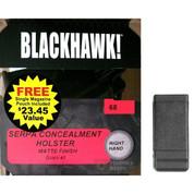 BlackHawk SERPA CQC Glock 43 G43 Holster RH 410568BK-R