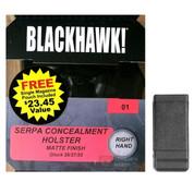 BLACKHAWK SERPA CQC HOLSTER Glock 26 27 33 RH 410501BK-R