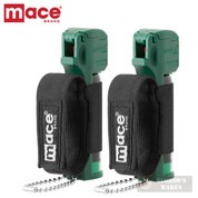 MACE Muzzle Dog K9 Deterrent PEPPER SPRAY 2-PACK 10ft Range 80146 80536