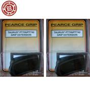 "Pearce Grip PG-709 TAURUS PT709 ""SLIM"" / PT740 Grip Extension 2-PACK"