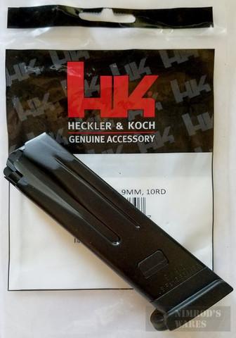 H&K VP9 P30 9mm 10 Round Steel Factory Magazine 229750S