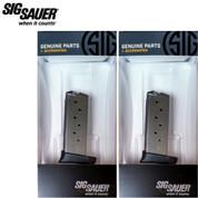 Sig Sauer P938 9mm 7 Round Magazine 2-PACK MAG-938-9-7