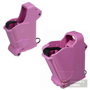 Maglula UpLULA 9mm-45ACP UP60P + Baby UpLULA .22-.380 UP64P Universal Loaders in PINK