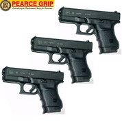 Pearce Grip GLOCK 30 G30 Grip Extension 3-PACK PG-30 Add Control & Comfort