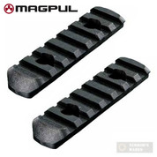 "MAGPUL MOE Rail Section L3 7 Slots 3.3"" MAG407-BLK 2-PACK"