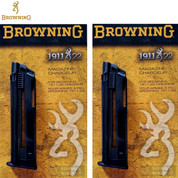 BROWNING 1911 22 LR 10 Round MAGAZINE 2-PACK 112055191 STEEL